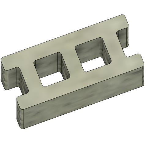 Mini Cinder Blocks 4.PNG Download free STL file Free Mini Cinder Blocks • 3D printing model, httpkoopa