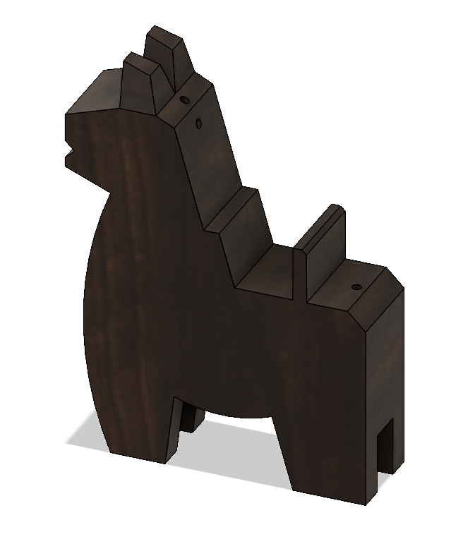 HorseA2.PNG Download STL file Japanese Toy Horses • 3D print object, httpkoopa