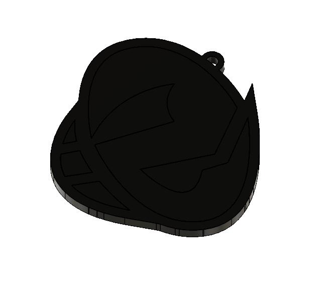 Team Skull Pendant 5.PNG Download STL file Team Skull Pendant • 3D printing template, httpkoopa
