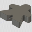 Download free 3D printer model Free Meeple Tree Topper, httpkoopa