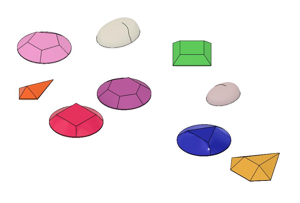 Gems 1.PNG Download STL file Steven Universe Cosplay Gem Set • 3D printable object, httpkoopa