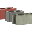 Mini Cinder Blocks 3.PNG Download free STL file Free Mini Cinder Blocks • 3D printing model, httpkoopa