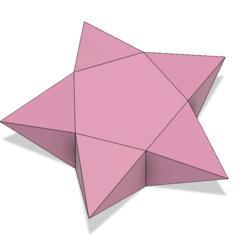 Download 3D printing designs Origami Star Box, httpkoopa