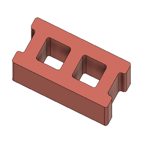 Mini Cinder Blocks 5.PNG Download free STL file Free Mini Cinder Blocks • 3D printing model, httpkoopa
