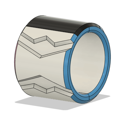Bracelet 2.png Télécharger fichier OBJ Dynamax Bracelet épée et bouclier • Objet à imprimer en 3D, httpkoopa