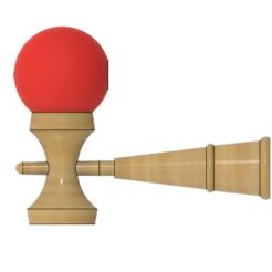 Modèle 3D Kendama classique, httpkoopa