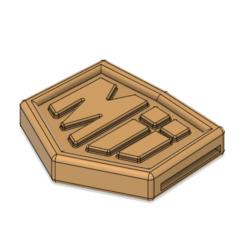 Download 3D printer templates Mii Fighter Belt and Buckle Smash Ultimate, httpkoopa