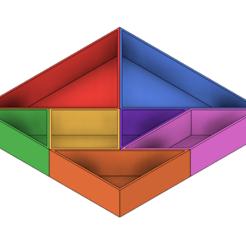 Fichier impression 3D Récipients Tangram, httpkoopa