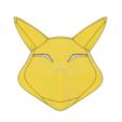 Download 3D printing designs Keaton Fox Mask, httpkoopa