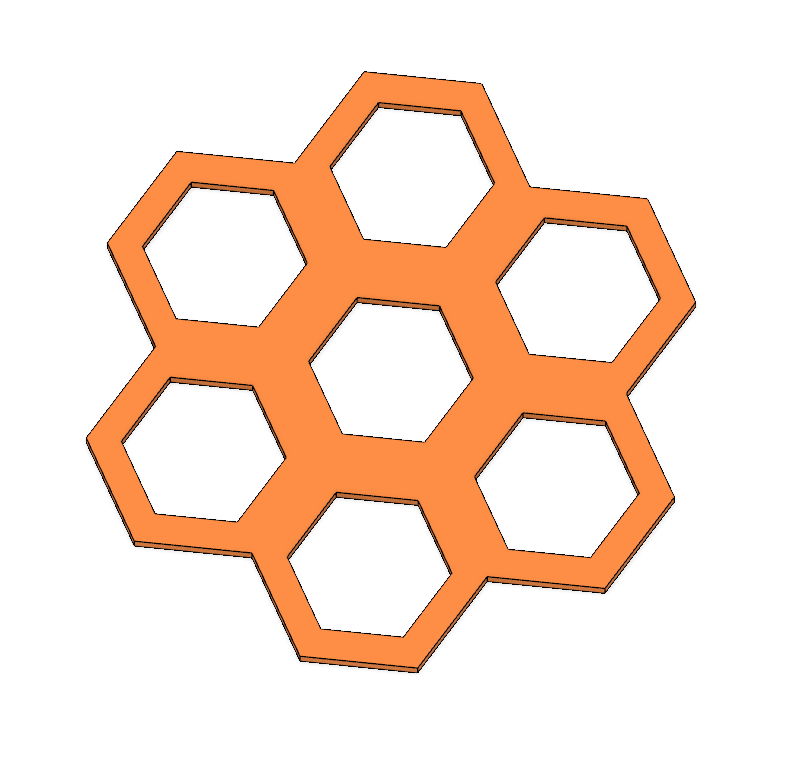 Hexagon 3.PNG Download STL file Coaster Set (Geometric Shapes and Scribbles) • Design to 3D print, httpkoopa