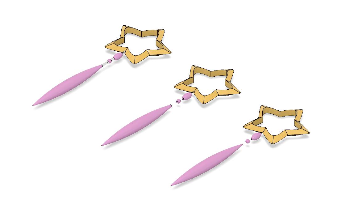 DAOKO GIRL Star Wand 1.PNG Télécharger fichier STL Baguette DAOKO Girl Star • Design à imprimer en 3D, httpkoopa