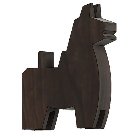 HorseA4.PNG Download STL file Japanese Toy Horses • 3D print object, httpkoopa