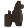 3d printer designs Japanese Toy Horses, httpkoopa