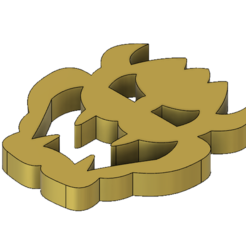3D printing model Bowser Emblem for Wedding Outfit with Bonus Keychain and Coaster, httpkoopa