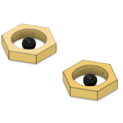 Download 3D printing files Meltan Earrings, httpkoopa