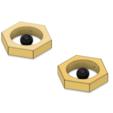 3D printer files Meltan Earrings, httpkoopa