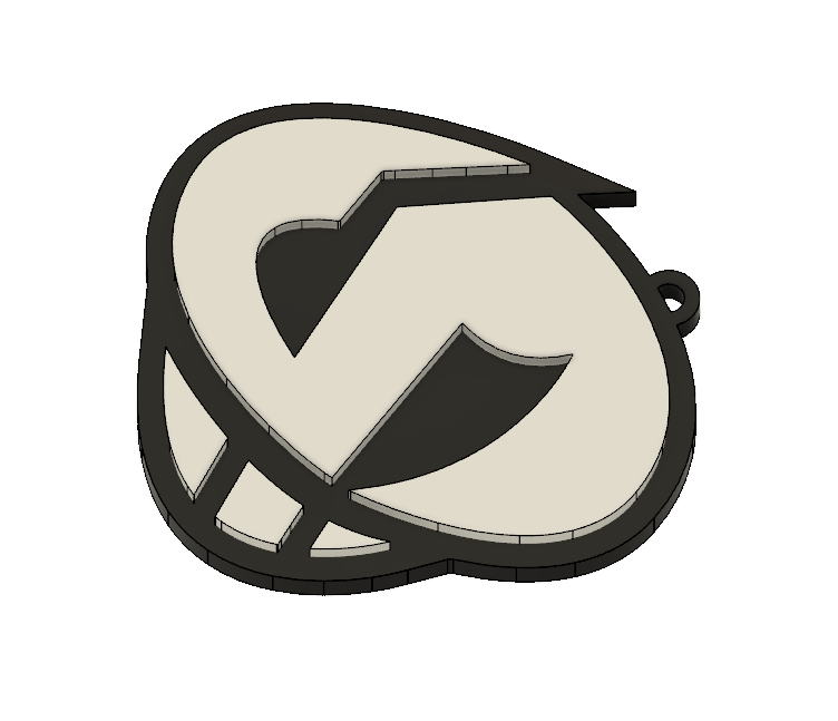 Team Skull Pendant 2.PNG Download STL file Team Skull Pendant • 3D printing template, httpkoopa
