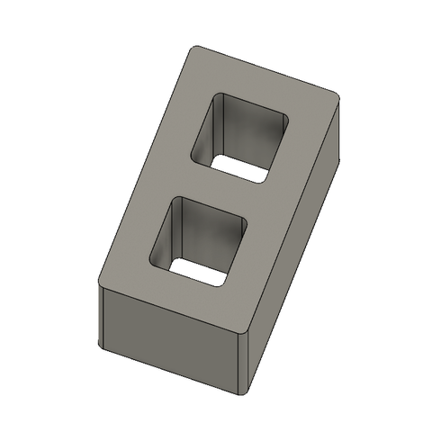 Mini Cinder Blocks 6.PNG Download free STL file Free Mini Cinder Blocks • 3D printing model, httpkoopa