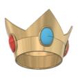 Peach Crown 5.PNG Download STL file Princess Peach Crown • 3D print design, httpkoopa