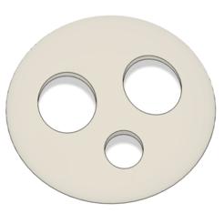 Télécharger fichier impression 3D Masque Allister - Chef de gymnase épée et bouclier, httpkoopa
