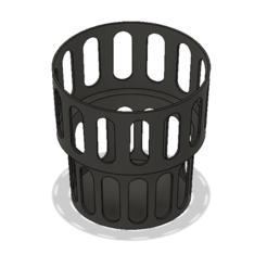 Boba Cup 1.PNG Download STL file Dual Size Boba Cup Holder • 3D printable model, httpkoopa