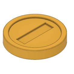 Télécharger fichier imprimante 3D Monnaies Super Mario, httpkoopa
