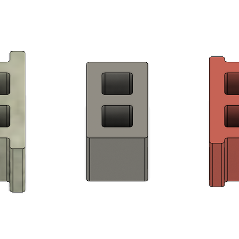 Mini Cinder Blocks 2.PNG Download free STL file Free Mini Cinder Blocks • 3D printing model, httpkoopa