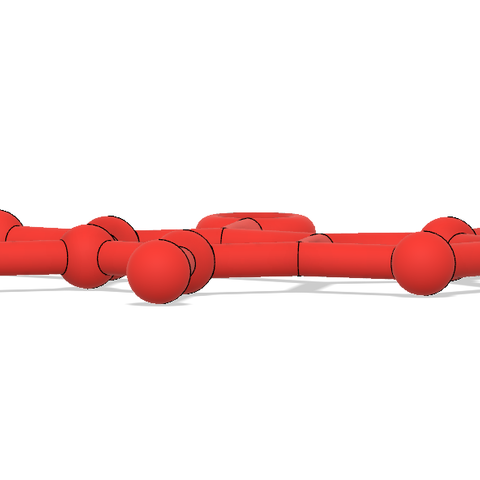 Caffeine Molecule Ornament 4.PNG Download free STL file Free Caffeine Molecule Ornament • 3D print design, httpkoopa