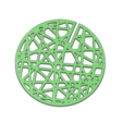 Download 3D printer designs Cactus Coasters, httpkoopa