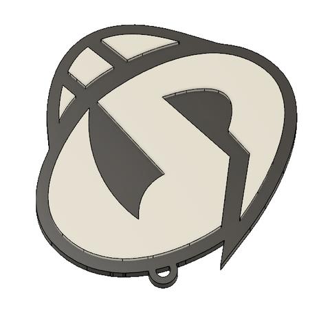 Team Skull Pendant 4.PNG Download STL file Team Skull Pendant • 3D printing template, httpkoopa