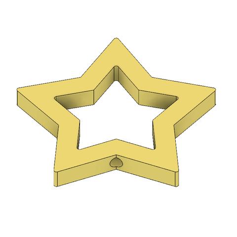 Rosalina Star Wand 6.PNG Télécharger fichier STL Baguette Rosalina Star Pièce • Modèle pour impression 3D, httpkoopa