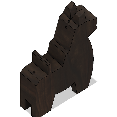 HorseA3.PNG Download STL file Japanese Toy Horses • 3D print object, httpkoopa