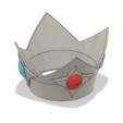 Rosalina Crown 5.PNG Télécharger fichier STL Couronne de la princesse étoile Rosalina • Objet pour imprimante 3D, httpkoopa