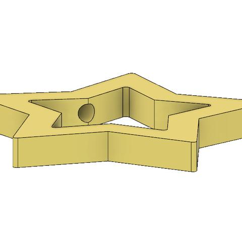 Rosalina Star Wand 2.PNG Télécharger fichier STL Baguette Rosalina Star Pièce • Modèle pour impression 3D, httpkoopa