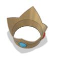 Peach Crown 4.PNG Download STL file Princess Peach Crown • 3D print design, httpkoopa