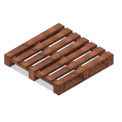 Pallet Coaster 1.PNG Download STL file Pallet Coaster • 3D printable model, httpkoopa
