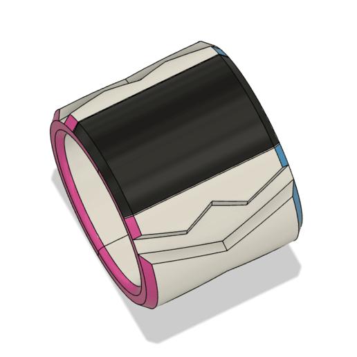 Bracelet 4.png Télécharger fichier OBJ Dynamax Bracelet épée et bouclier • Objet à imprimer en 3D, httpkoopa