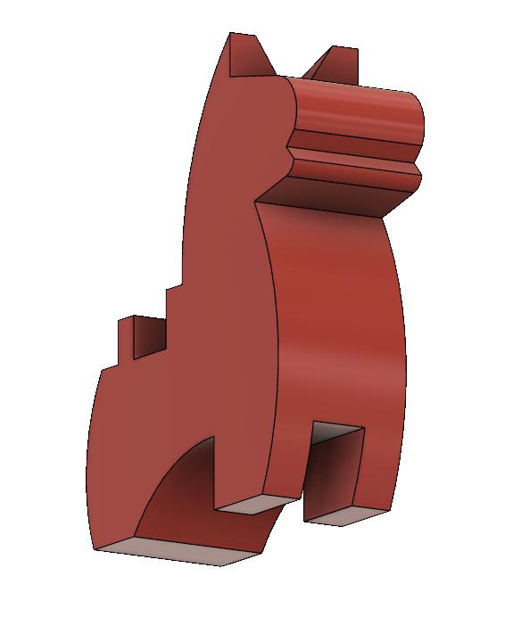 HorseC4.PNG Download STL file Japanese Toy Horses • 3D print object, httpkoopa