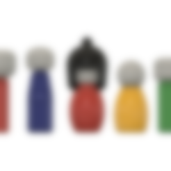 3D printer files Kokeshi Dolls, httpkoopa