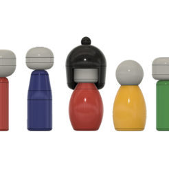 Download 3D model Kokeshi Dolls, httpkoopa