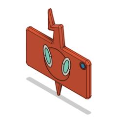 Phone 8.png Télécharger fichier OBJ Épée et bouclier Rotom Phone • Design imprimable en 3D, httpkoopa