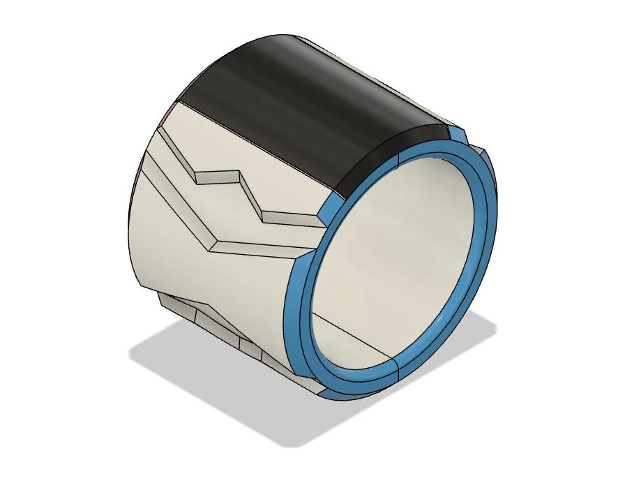 Bracelet 1.png Télécharger fichier OBJ Dynamax Bracelet épée et bouclier • Objet à imprimer en 3D, httpkoopa