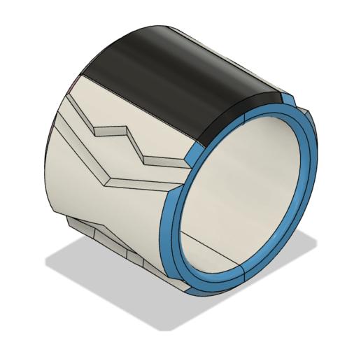 Download 3D printer designs Dynamax Bracelet Sword and Shield, httpkoopa