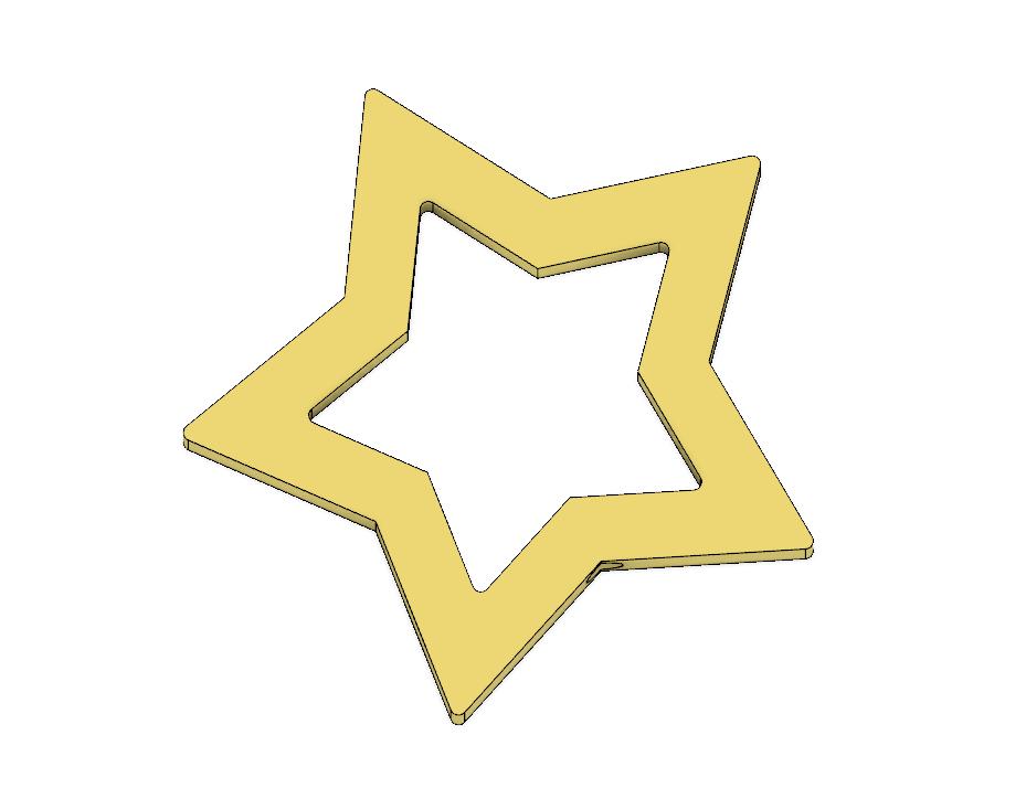 Rosalina Star Wand 4.PNG Télécharger fichier STL Baguette Rosalina Star Pièce • Modèle pour impression 3D, httpkoopa