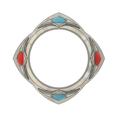 Rosalina Crown 4.PNG Télécharger fichier STL Couronne de la princesse étoile Rosalina • Objet pour imprimante 3D, httpkoopa