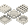 Download 3D printer templates Rounded Office Containers, httpkoopa