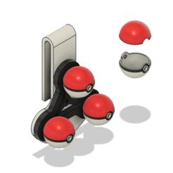 Download 3D printer model Sword and Shield Gym Leader Ball Holder, httpkoopa