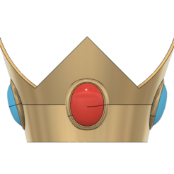 Download STL Princess Peach Crown, httpkoopa
