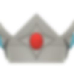 Rosalina Crown.stl Télécharger fichier STL Couronne de la princesse étoile Rosalina • Objet pour imprimante 3D, httpkoopa