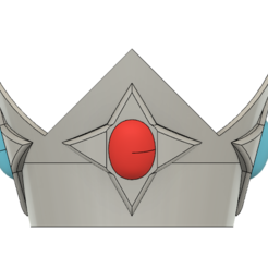 Rosalina Crown 1.PNG Download STL file Star Princess Rosalina Crown • 3D printer template, httpkoopa